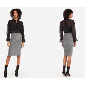Express | Pencil Skirt Natural Waist Size 12 NWT